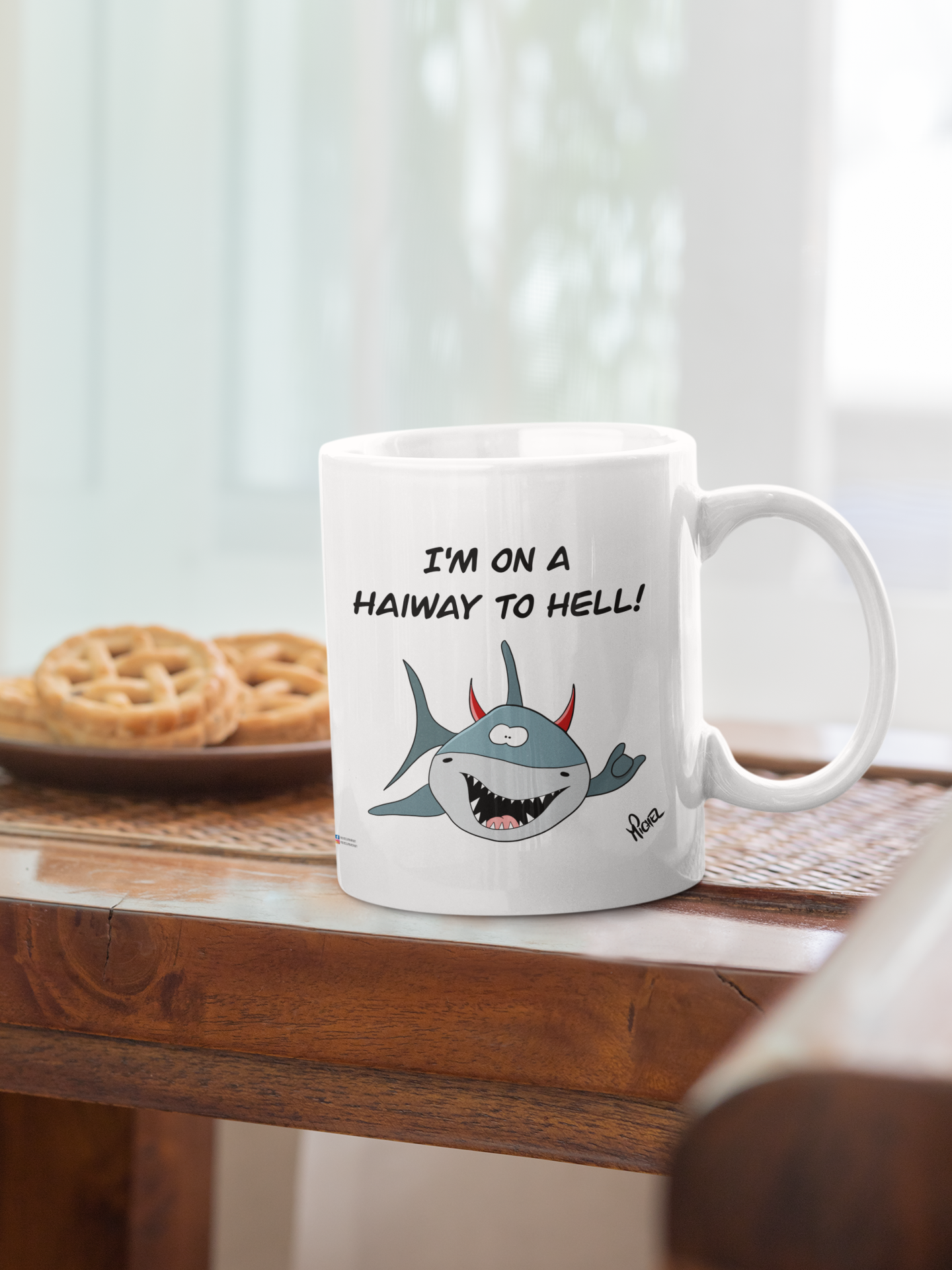 Michels HaiLender Tasse - I am on the HaiWay to hell