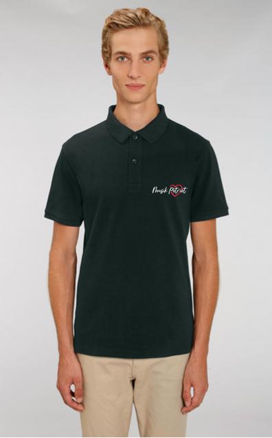 MusikPatriot Poloshirt Classic mit Logo (High Quality)