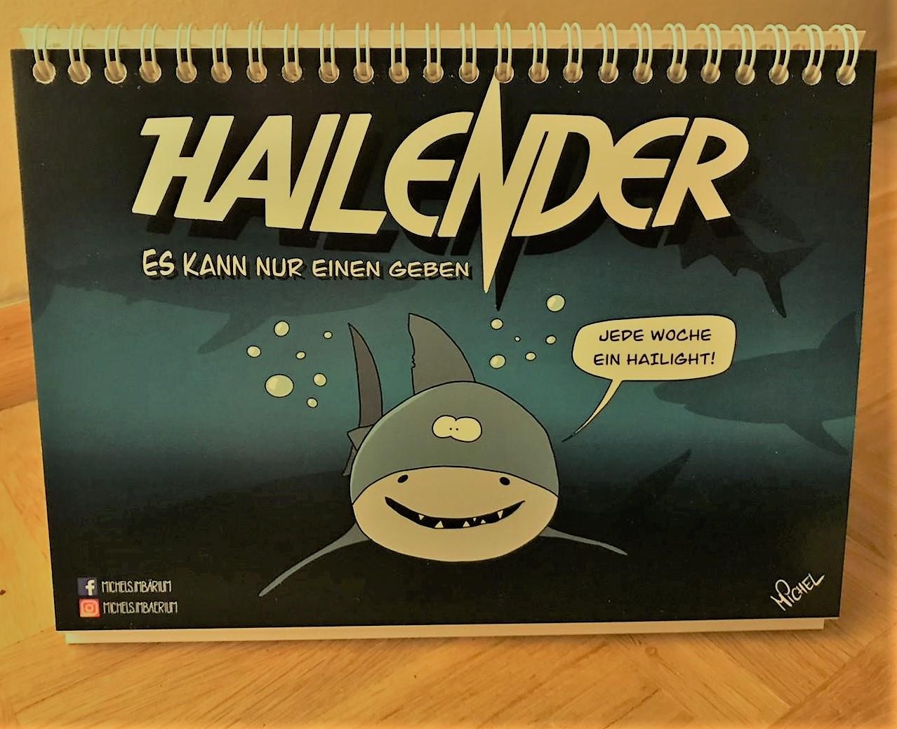 Michels HaiLender (Tischkalender)
