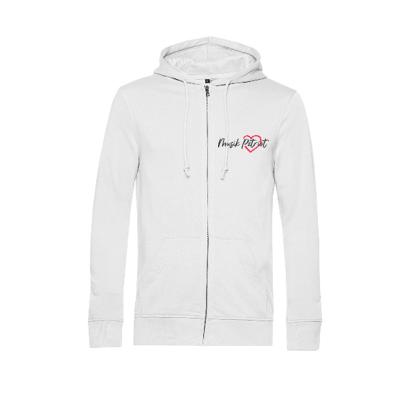 MusikPatriot Zip-Jacke Classic mit Logo (Mid Quality)