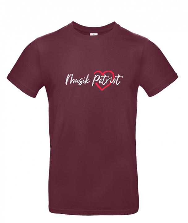MusikPatriot T-Shirt Classic mit Logo (Mid Quality)