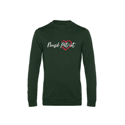 MusikPatriot Sweatshirt Classic mit Logo (Mid Quality)