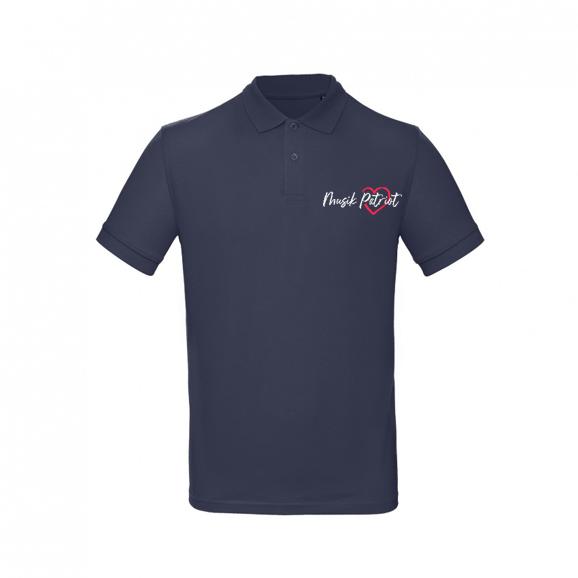 MusikPatriot Poloshirt Classic mit Logo (Mid Quality)