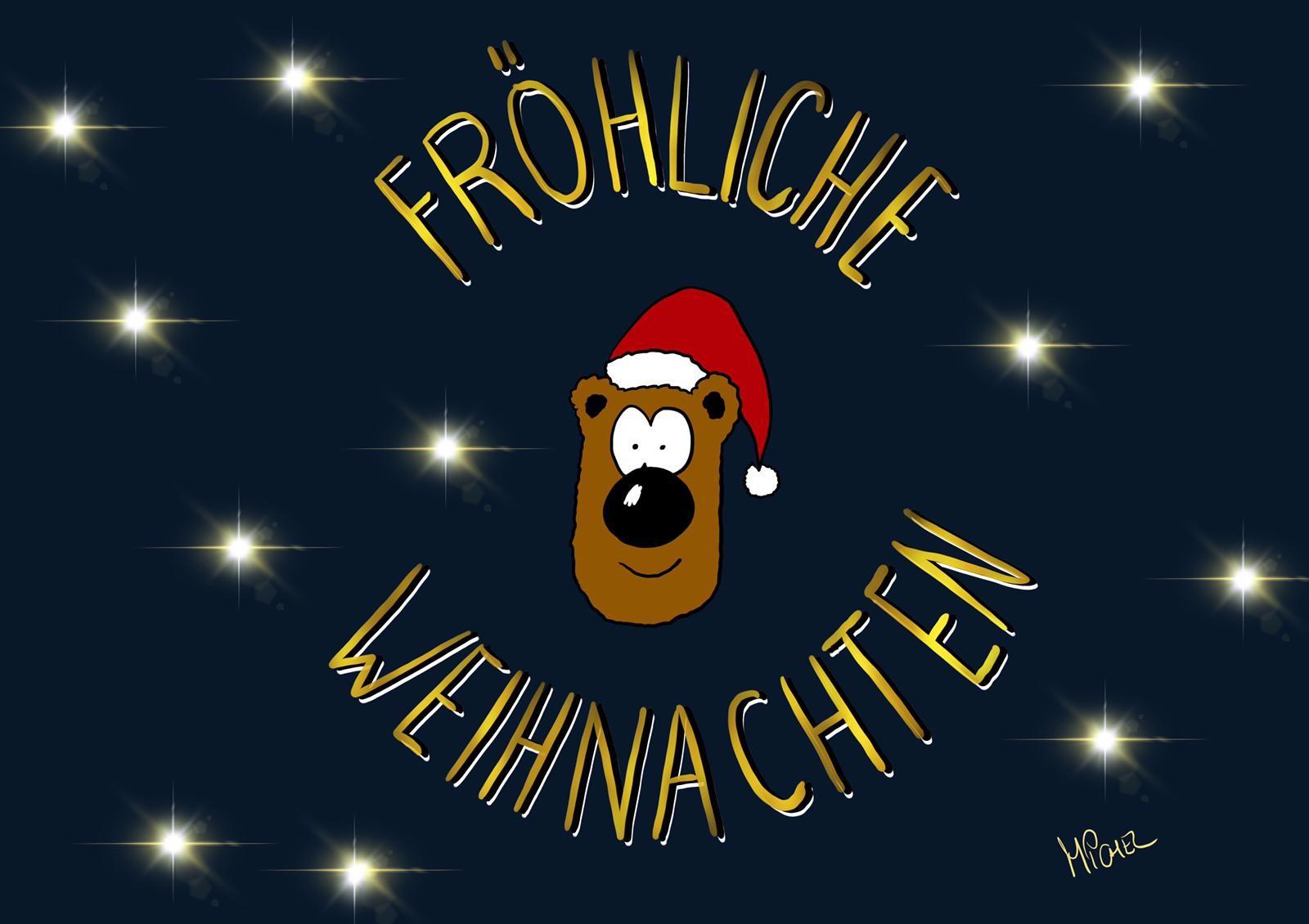 Michels Weihnachtspostkarten (10er Pack)