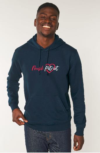 MusikPatriot Hoodie Classic mit Logo (High Quality)